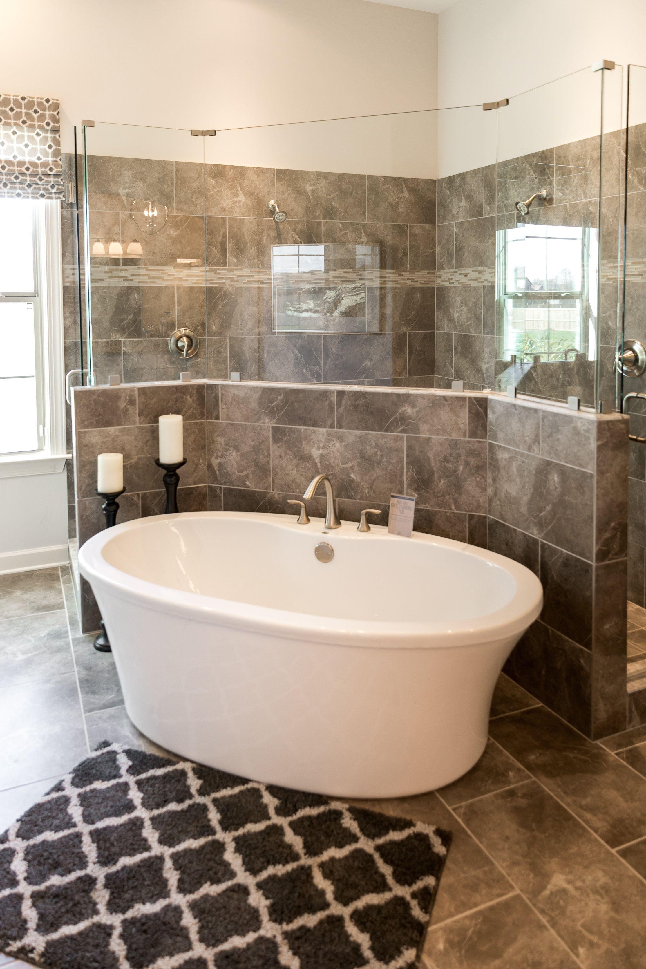Regency Homebuilders: Master Bath, Drop-In Tub, Walk-In Shower ...