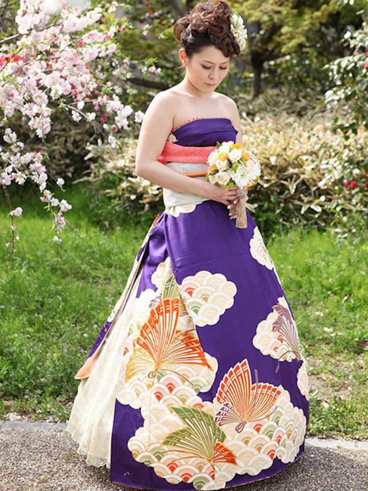 Les Japonaises Transforment Leur Kimono En Robe De Mariée