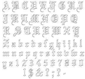 Tattoo Schriften Vorlagen 40 Designs Posts Abc Tattoo Schrift