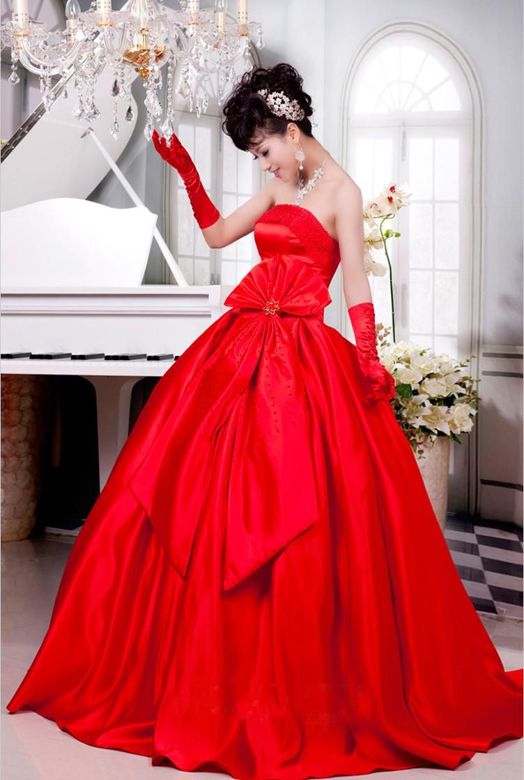 78  images about Red Wedding Dress on Pinterest  Lace Red lace ...