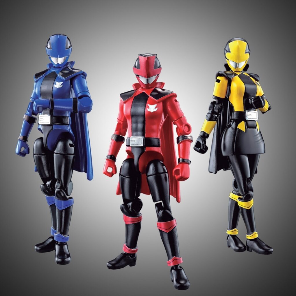 BANDAI Lupinranger VS Patoranger Sentai Hero Series Lupine Red