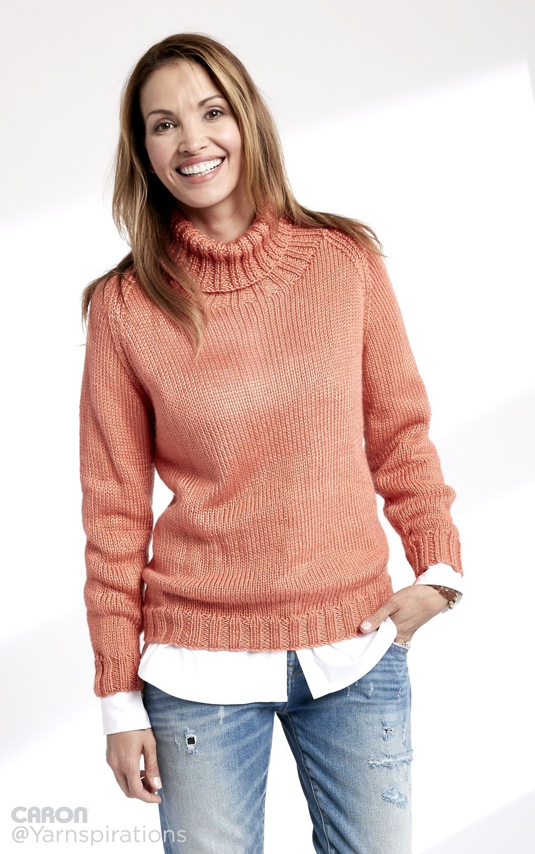 What adult knitting pattern sweater