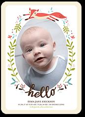 Unique Birth Announcements   Tiny Prints