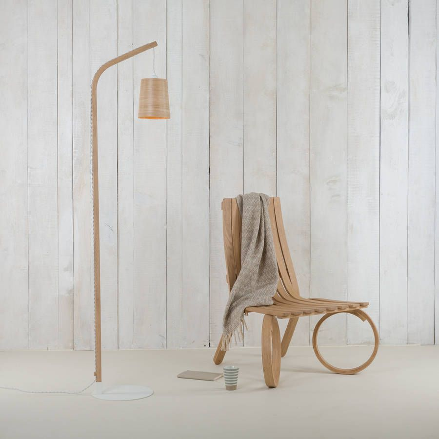 The Mullion Floor Light Is A Beautifully Simple Wooden Floor Lamp Which  Consists Of A Single