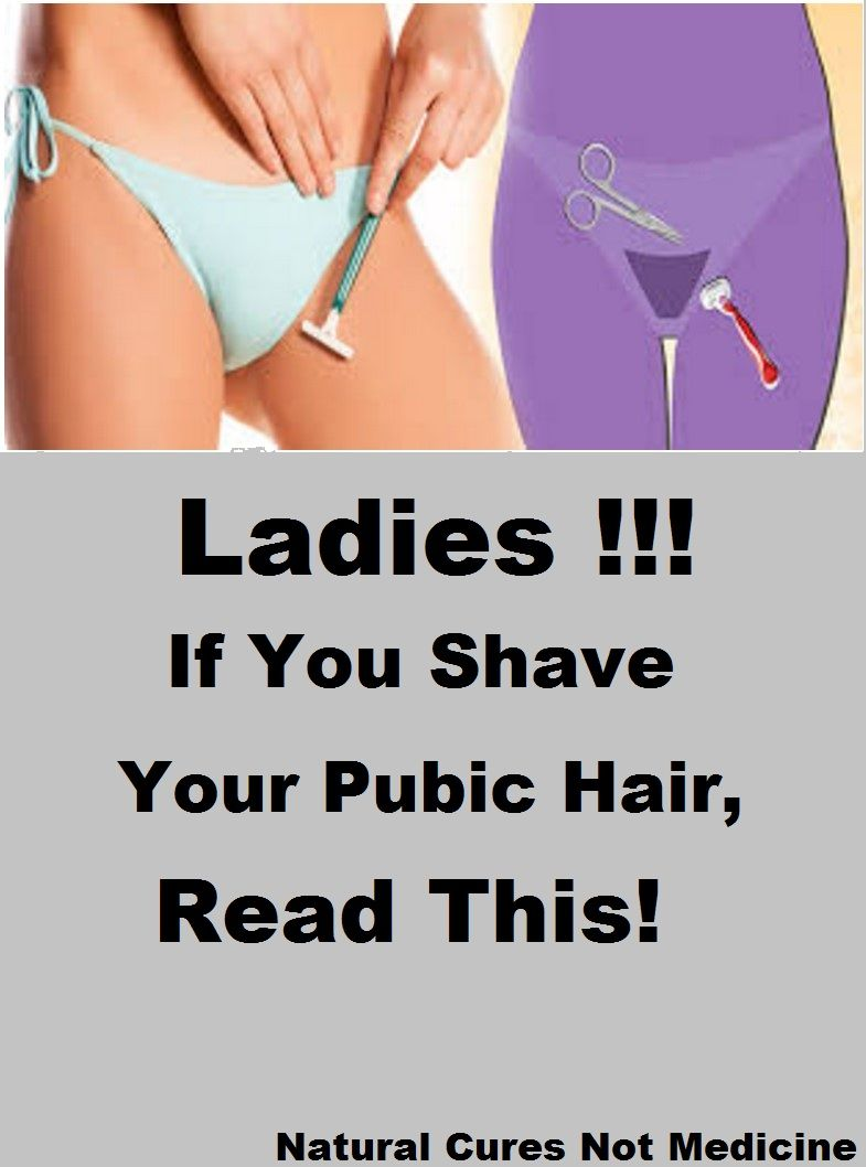 Do you shave your pubic area