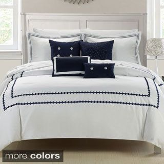 Mandalay 7 Piece Embroidered Comforter Set Beach House Bedrooms Comforters Comforter Sets