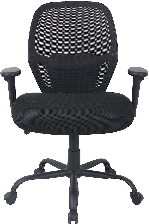 AmazonBasics Big Tall Swivel Office Chair Mesh with