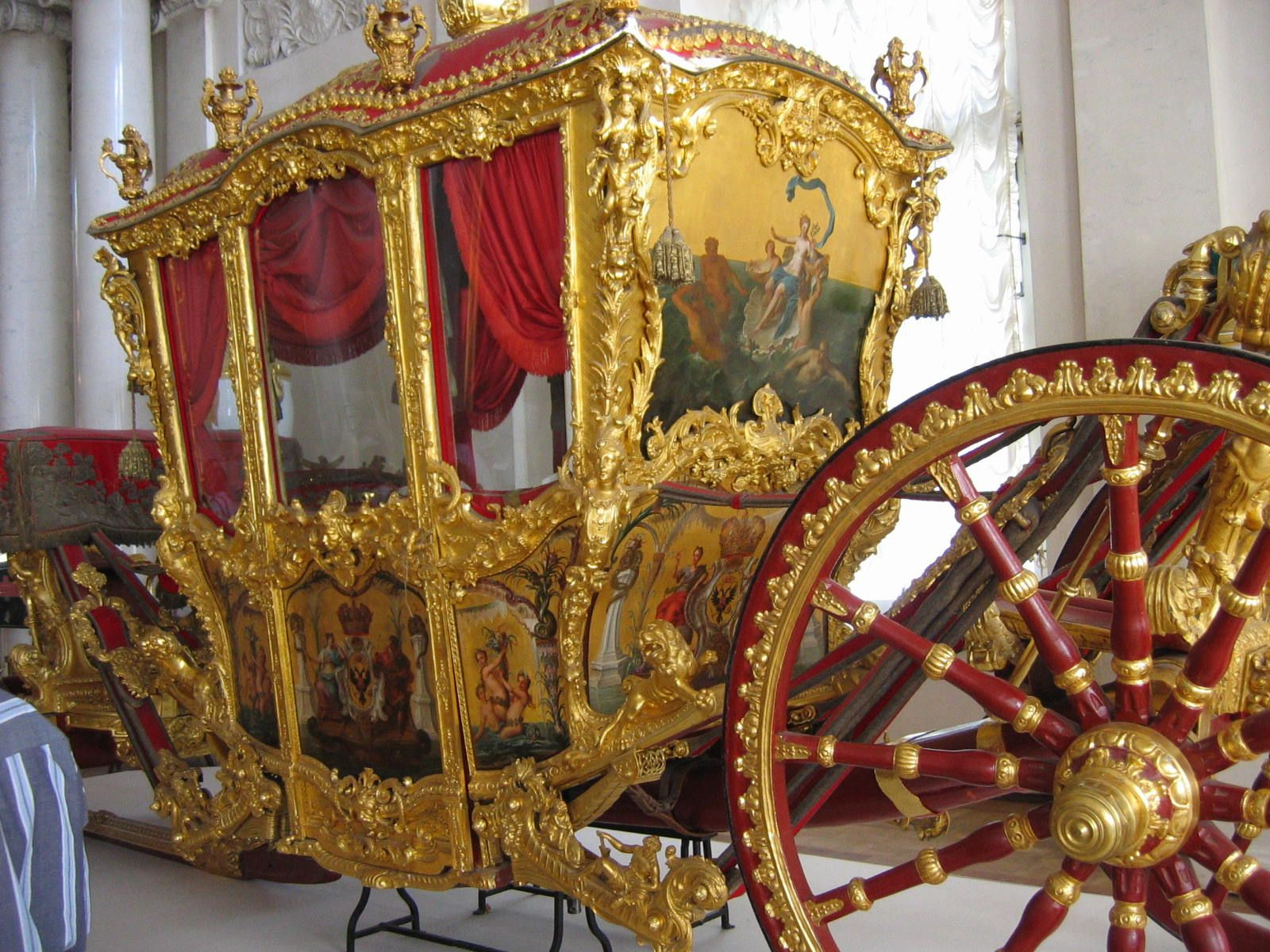 Catherine The Great S Coach Catherine The Great Russian History Historical Artifacts