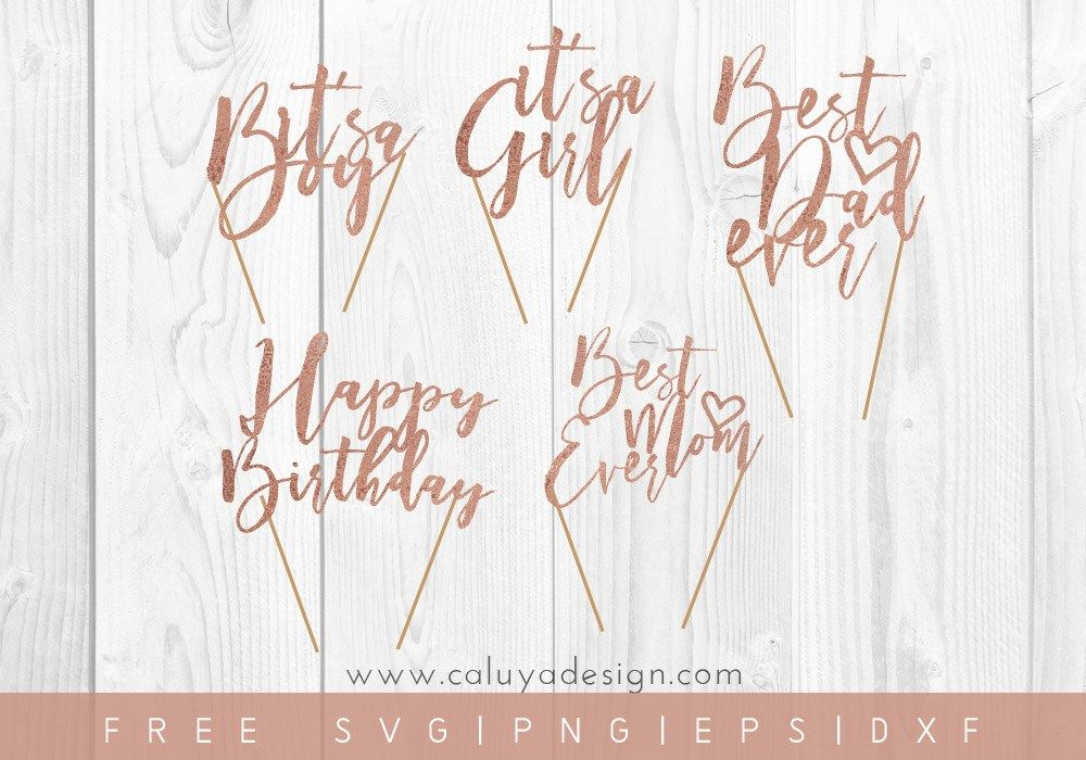 Download Free Cake Topper SVG, PNG, EPS & DXF File Download ...