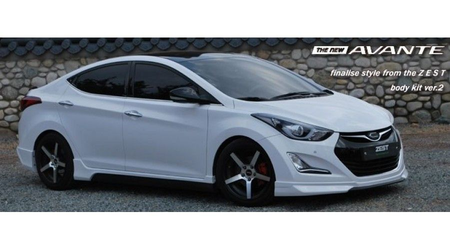 Zest Aero Parts Full Body Kit For Hyundai Avante Md Elantra 2013 15 Mnr Elantra Volkswagen Routan Volkswagen Touran