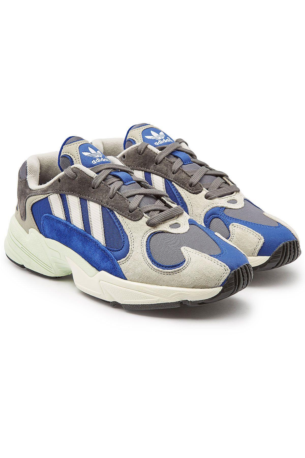 new concept d73ec e0dfb ADIDAS ORIGINALS YUNG 1 SNEAKERS WITH SUEDE.  adidasoriginals  shoes