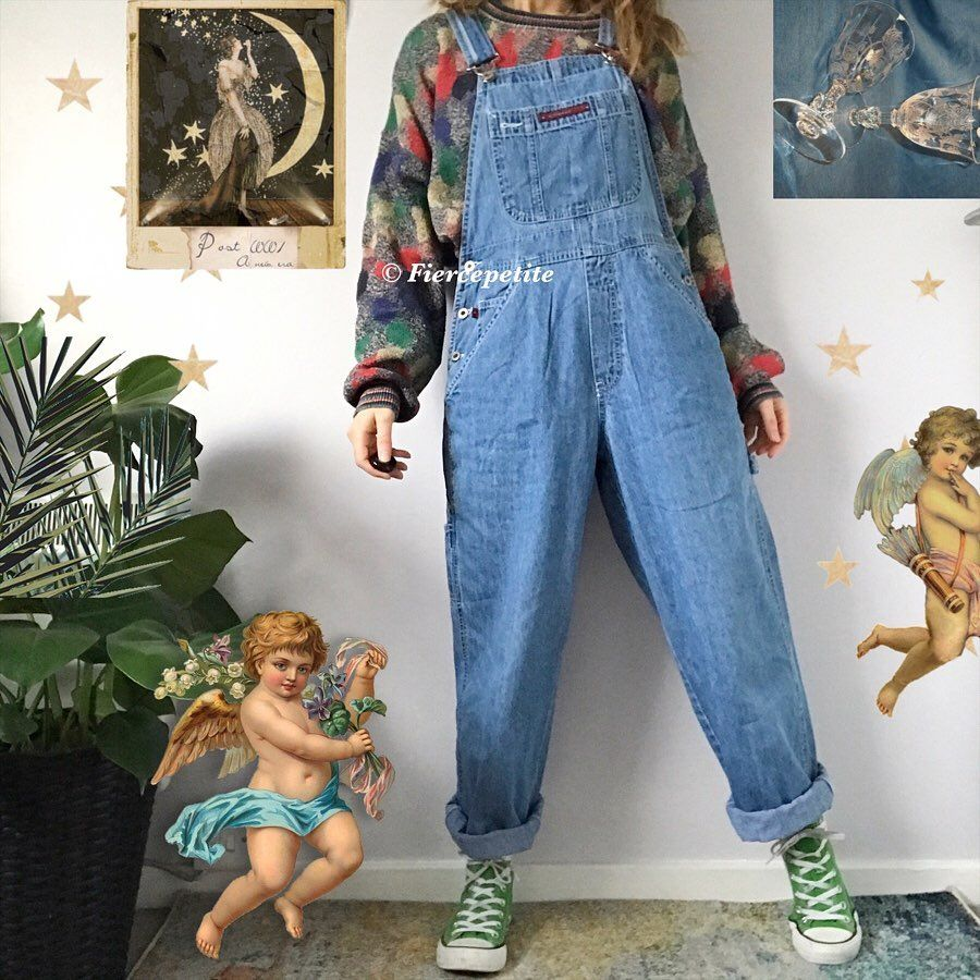 Vintage Clothing Fierce Petite On Instagram Some Of My Favourite Looks From My Store Which Do You Like Best 1 2 3 Overalls Vintage Clothes Vintage Outfits