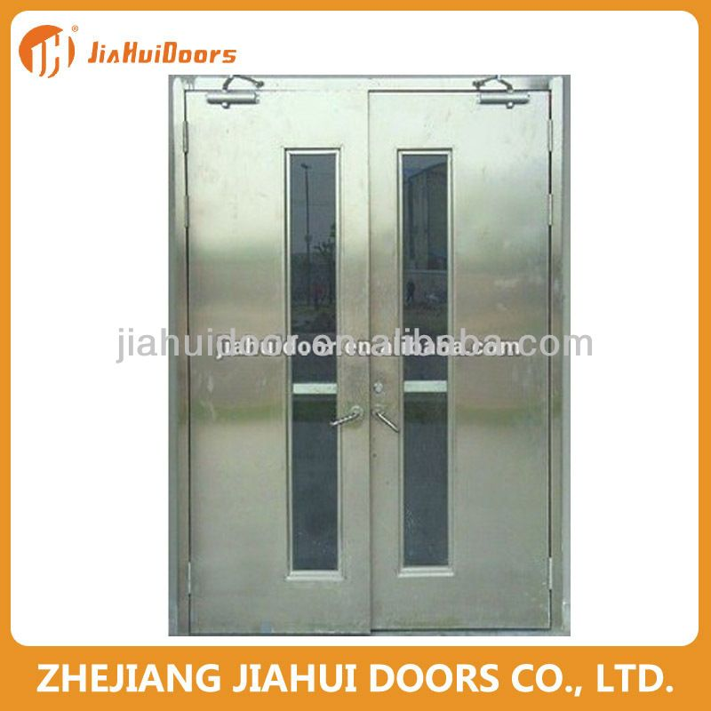 1 Cold Rolled Steel Honeycomb Paper Glass Window 2 Iso9001 3 860 960 2050 50 4 Left Right Inside Outside Fire Doors Locker Storage Steel Doors