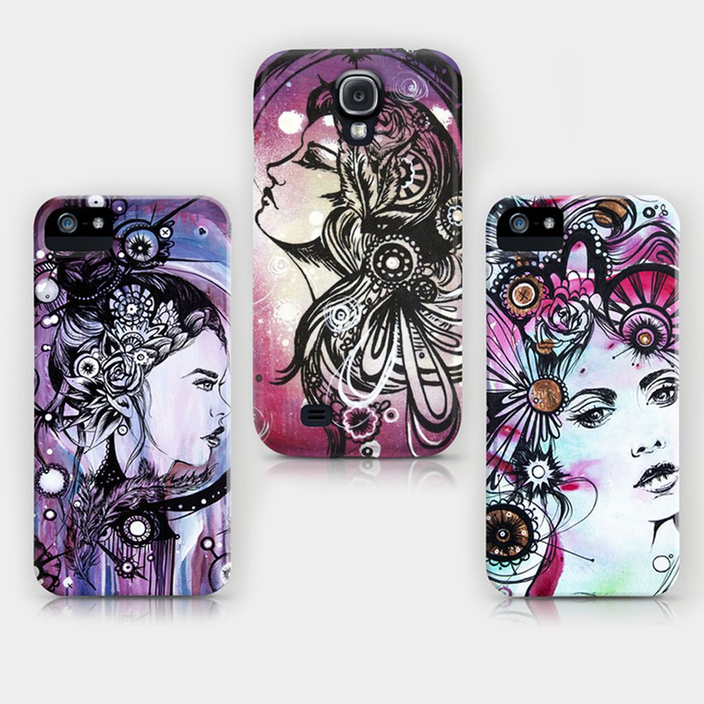 iPhone and Samsung Galaxy cases by Rachel Reinert www.society6.com/rachelreinertstudio