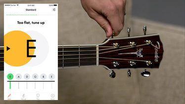 Acoustic Guitar Tuner Online Tuning Acoustic Fender Guitartuner