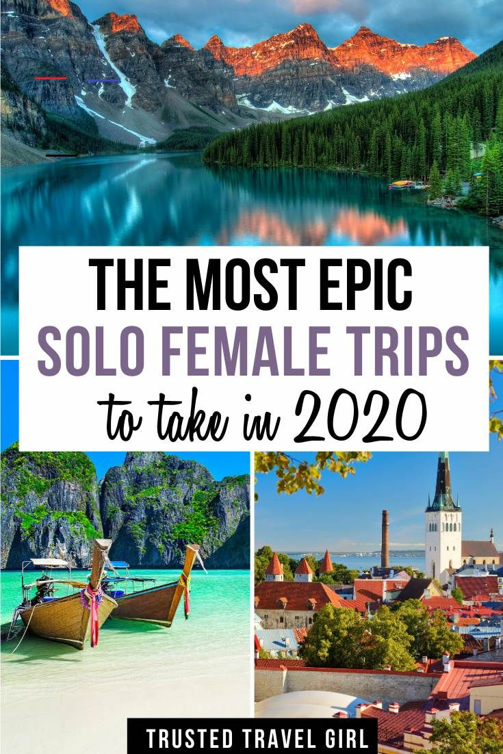 The Most Epic Solo Female Trips to take in 2020 - #traveldestinations - Best Solo Female Travel Destinations Now that you have my best tips for traveling solo, and staying safe while traveling, where should you go as a woman traveling solo ? While I firmly believe that women can and should travel nearly anywhere solo, with the right precautions, there are some destina...