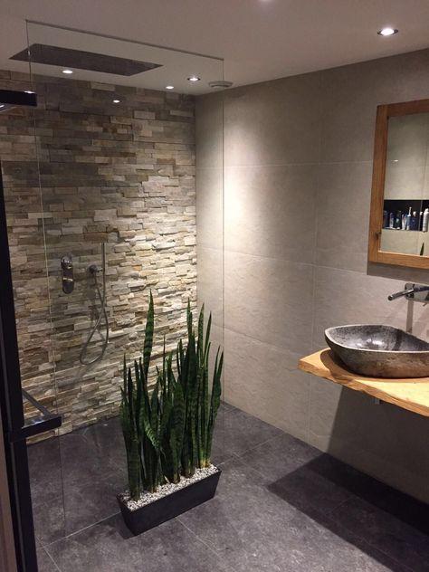 Natuurlijke kleuren in de badkamer door Van Manen Badkamers te ...