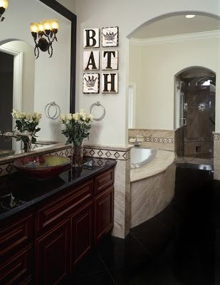 Pin On Wall Decor For Silver Bathroom