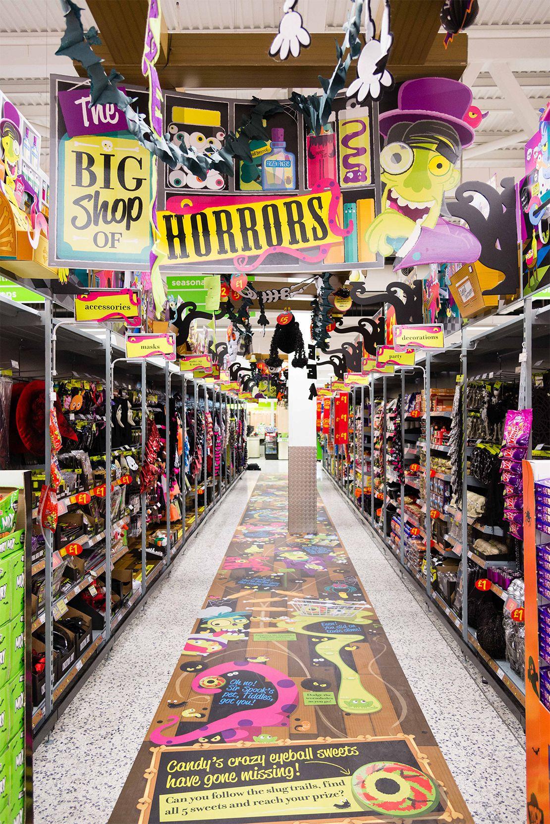 ASDA Halloween ShopperMarketing Retail POS