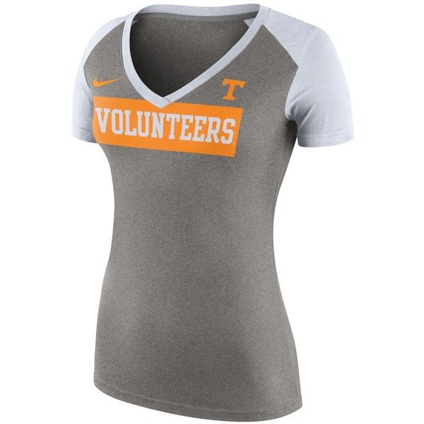 Nike Women's Tennessee Volunteers Tailgate Football T-Shirt ($38) ❤ liked on Polyvore featuring nike