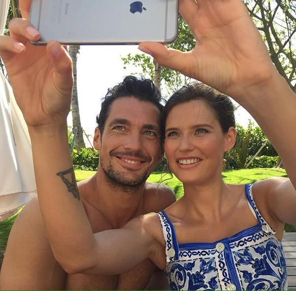 #DavidGandy And @Bianchina_Balti For @dolcegabbana In
