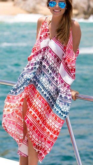 c252990051 Tunika sukienka plażowa letnia PAREO CHUSTA 41120