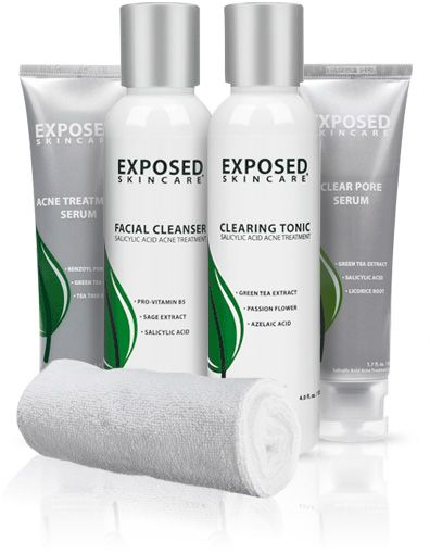 M Exposed Kit Selector Exposed Skin Care Best Acne Treatment Exposed Acne Treatment