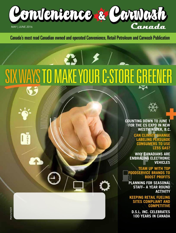 Convenience & Carwash mag may june 2016 Car wash, Trade