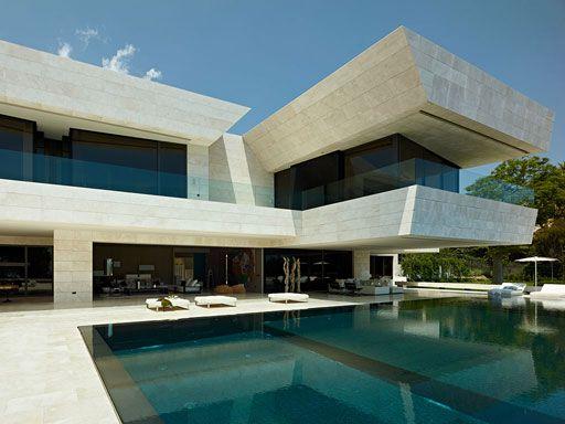 Vivienda en marbella a cero joaquin torres a cero architects arquitectura casa minimalista Casas prefabricadas joaquin torres precios