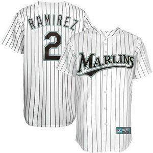 quality design 00137 1918c france mlb jerseys florida marlins 2 hanley ramirez white ...