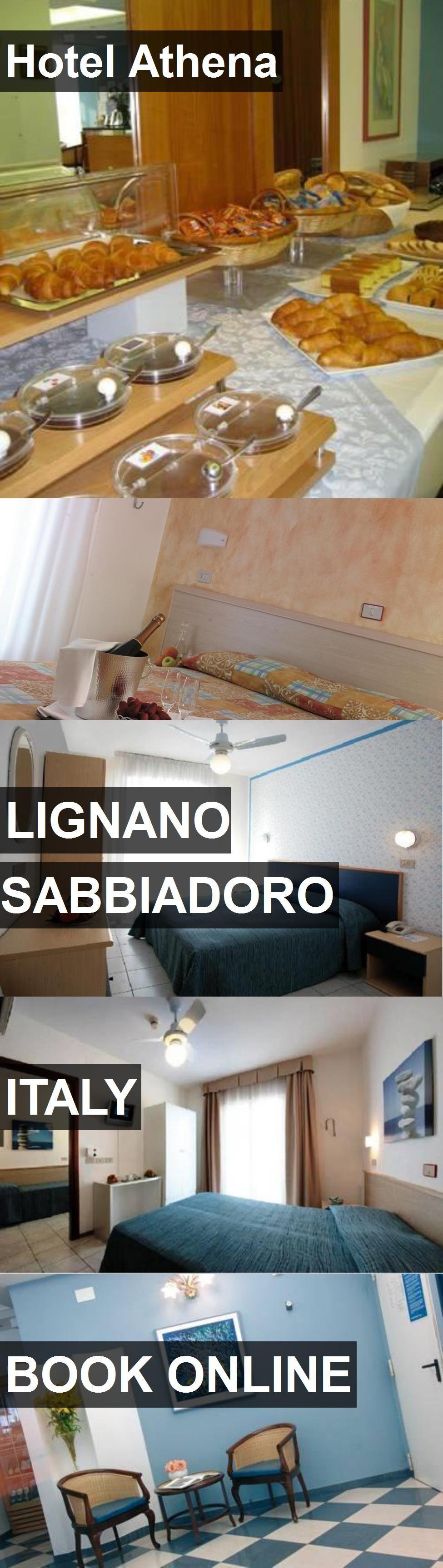Hotel Athena in Lignano Sabbiadoro, Italy. For more