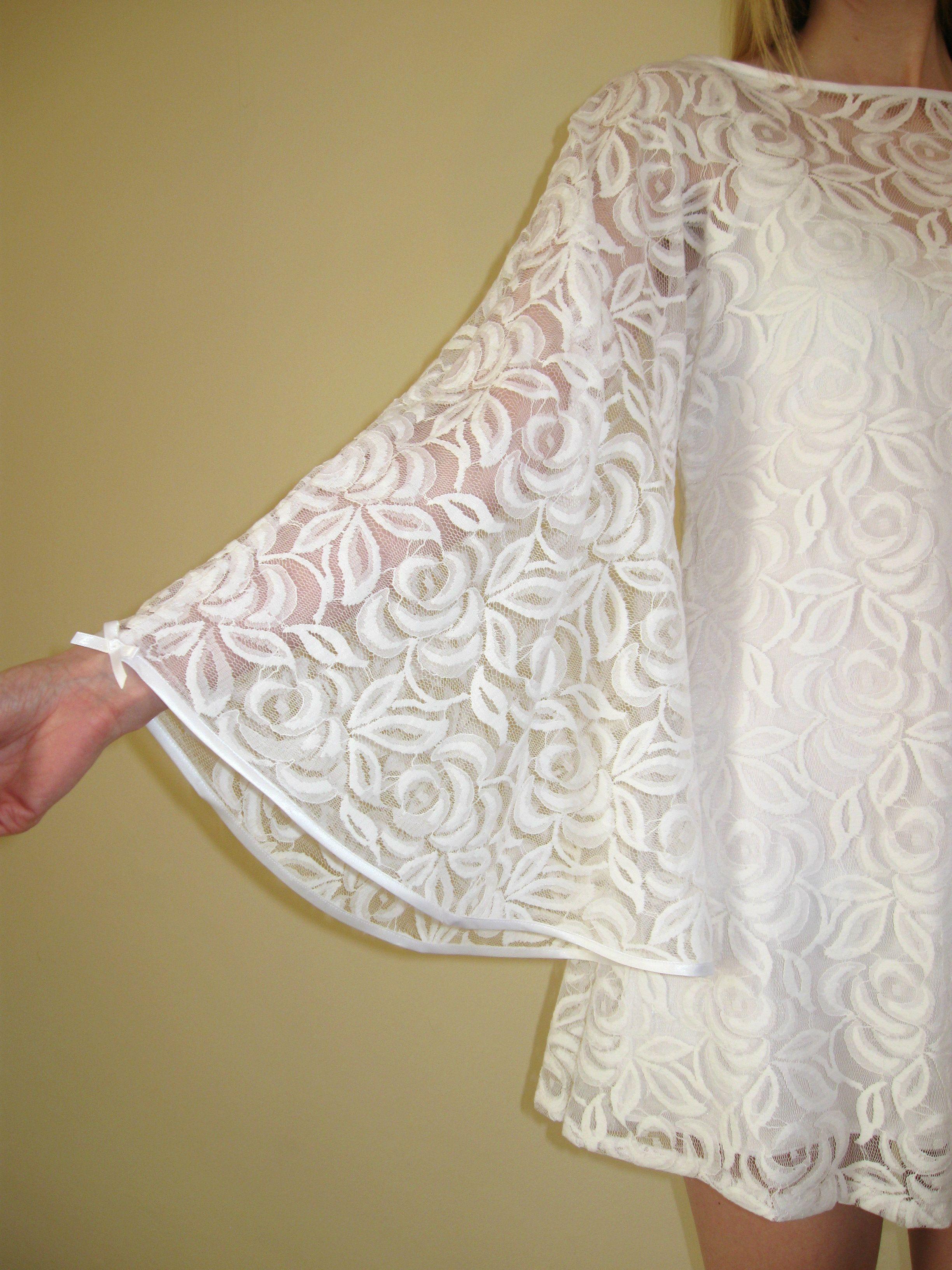 Lace Angel Dress sleeve