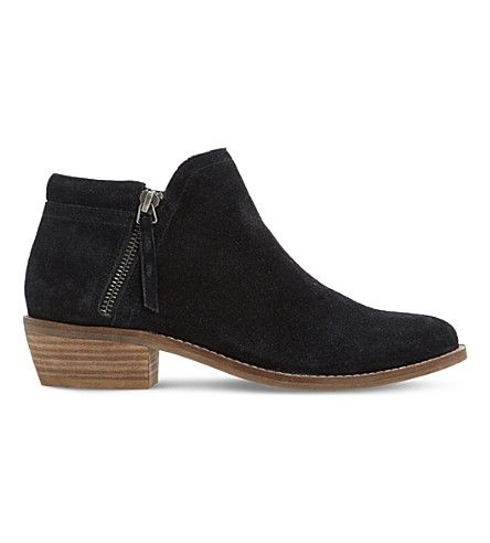 Latest Dune Black-Suede Pollyanna Suede Ankle Boots for Women Sale