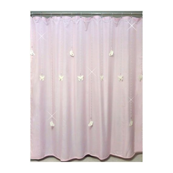 Single Swag Beaded Shower Curtain Bling With By ShowerCurtainBling Our Newest