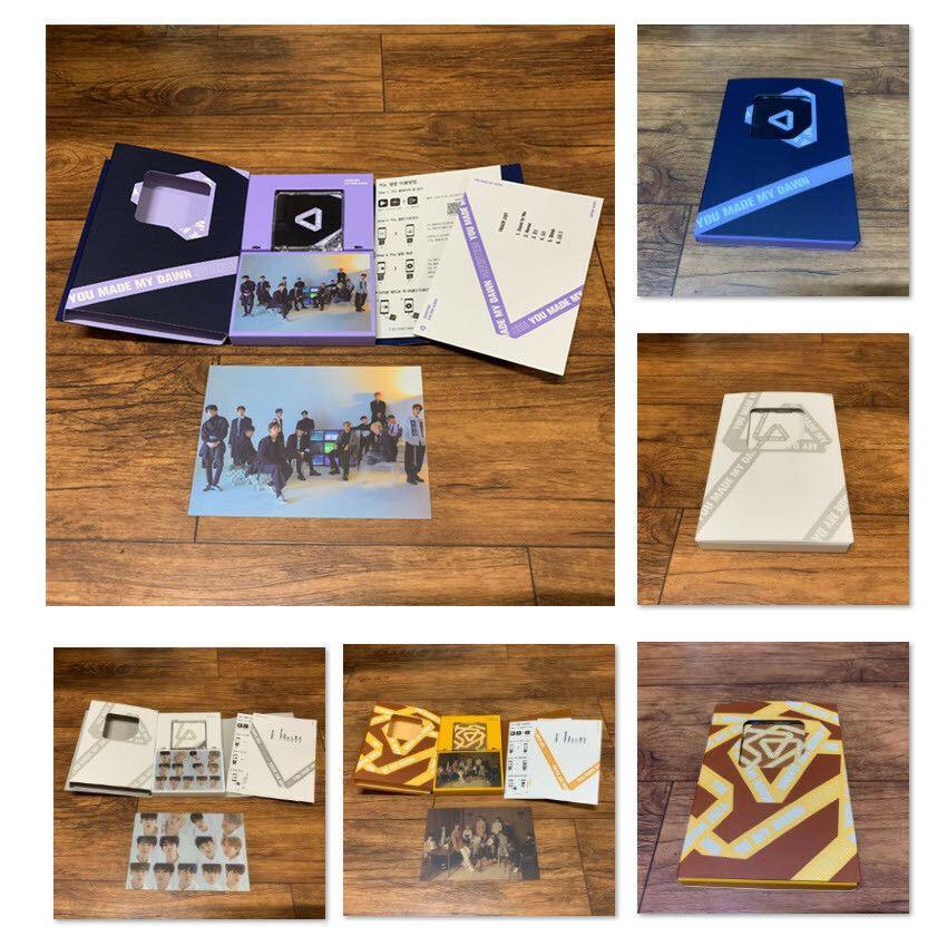 SEVENTEEN WONWOO #3 Official PHOTOCARD 4th Mini Album AL1