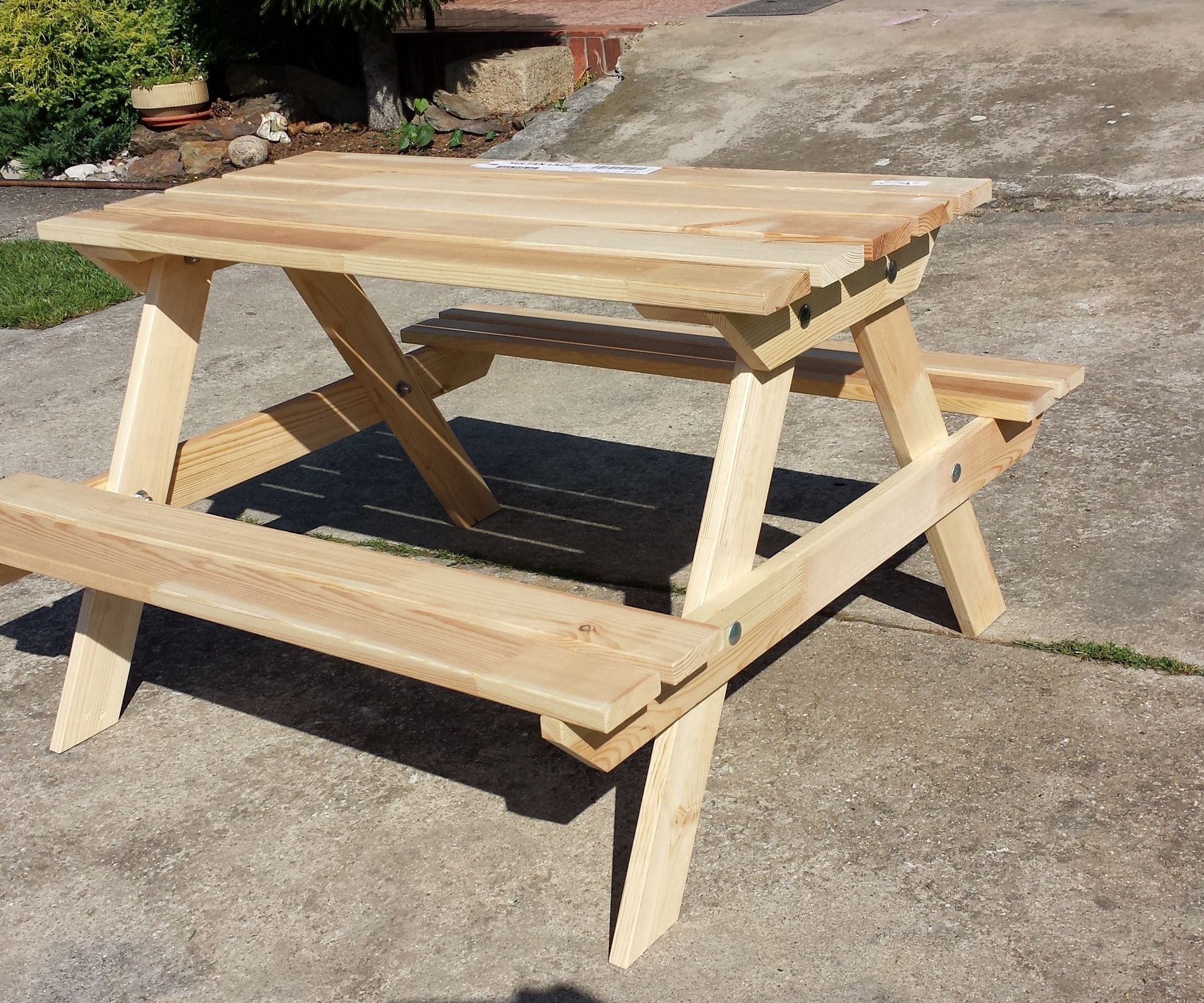 Sultan Lade Kids Camp Table With Images Ikea Bed Slats Bed Slats Kids Picnic Table