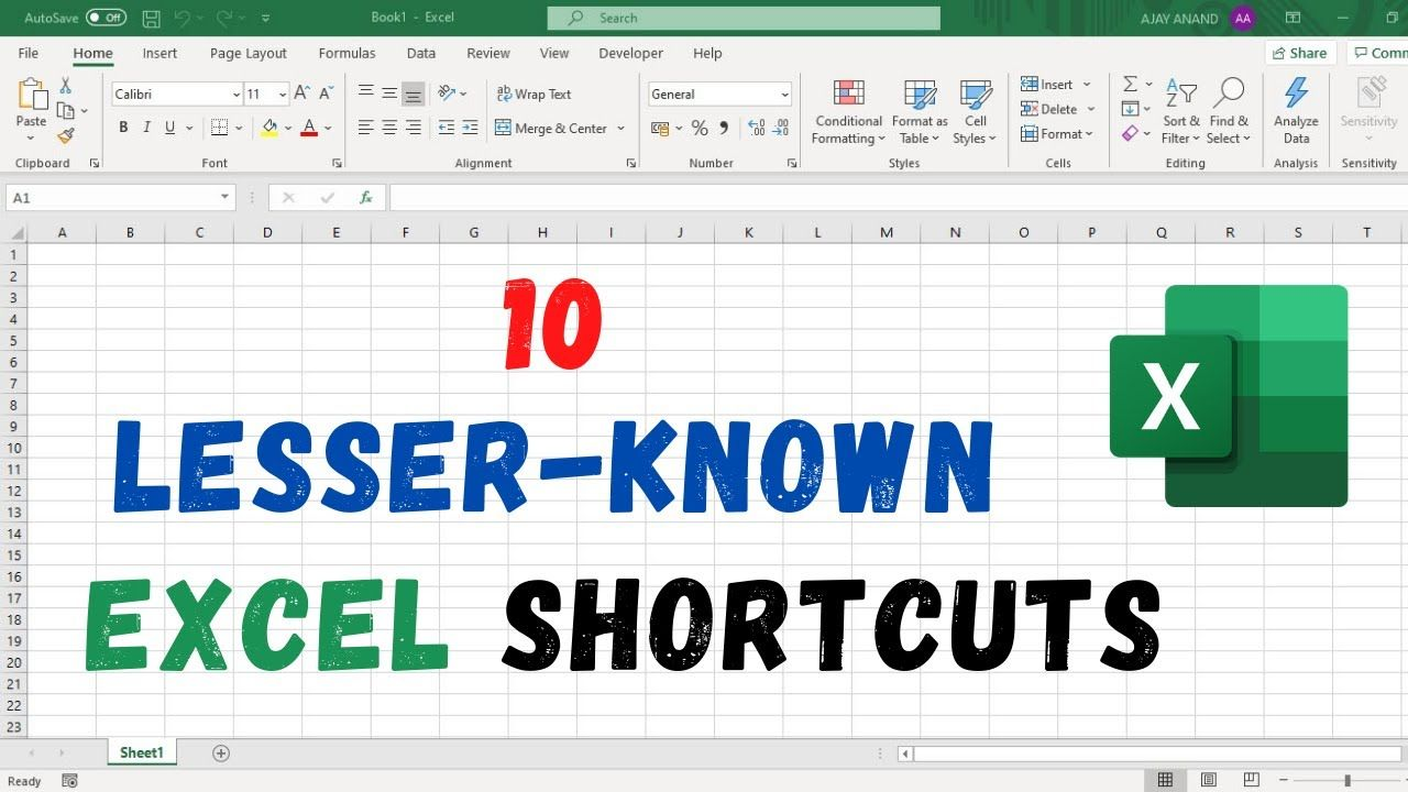 10 Lesser Known Excel Shortcuts Excel Shortcuts Name Boxes Page Layout Excel vba get active worksheet name