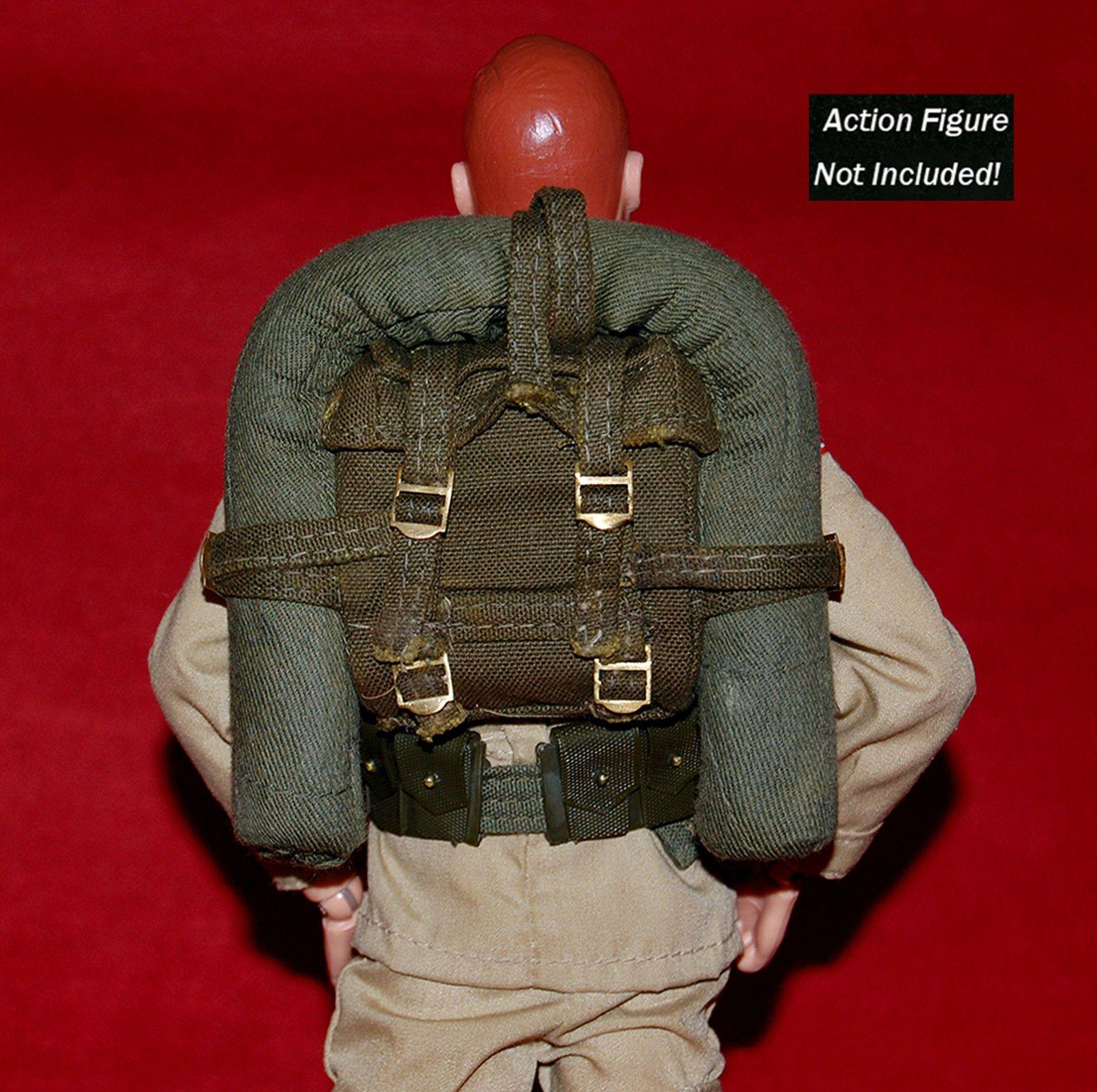VINTAGE 1964 GI JOE ACTION SOLDIER EARLY ISSUE COMBAT FIELD PACK u0026 BIVOUAC TENT | eBay & VINTAGE 1964 GI JOE ACTION SOLDIER EARLY ISSUE COMBAT FIELD PACK ...
