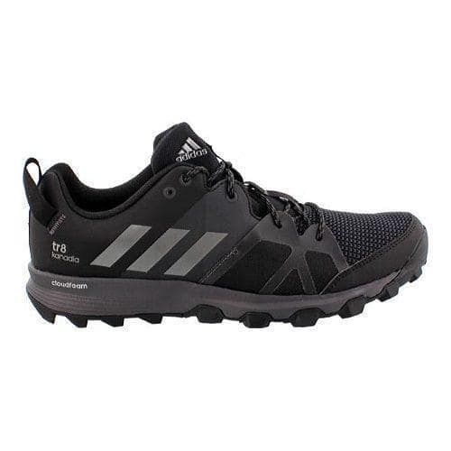 adidas Kanadia 8 Men's Running BlackIron Trail Shoe MLUpqSVzG