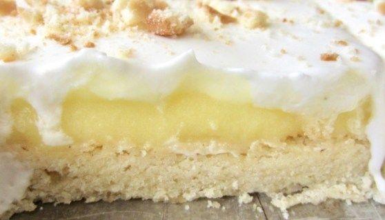 Banana Cream Pie Bars - Eat Dessert Snack