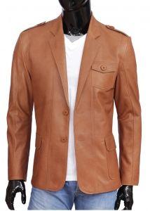 Marynarki Skorzane Kurtki Skorzane Dorjan Suit Jacket Jackets Single Breasted Suit Jacket