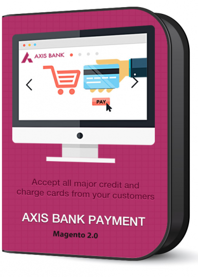 Axis Bank Payment Gateway Extension for Magneto 2 developed