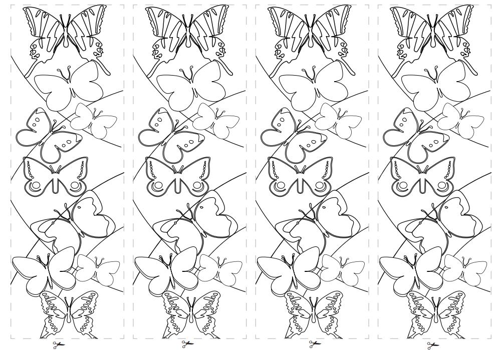 Boekenlegger vlinder knutselen pinterest boekenleggers lezen en school - Hoe om kleuren te maken ...