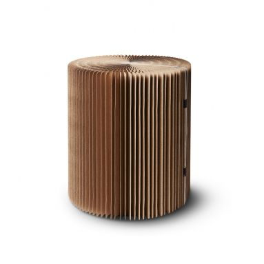 tabouret en carton pliable carton mobilier tabouret carton. Black Bedroom Furniture Sets. Home Design Ideas