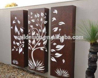 Hot Sell Decorative Metal Art Fence Panel Used For Outdoor