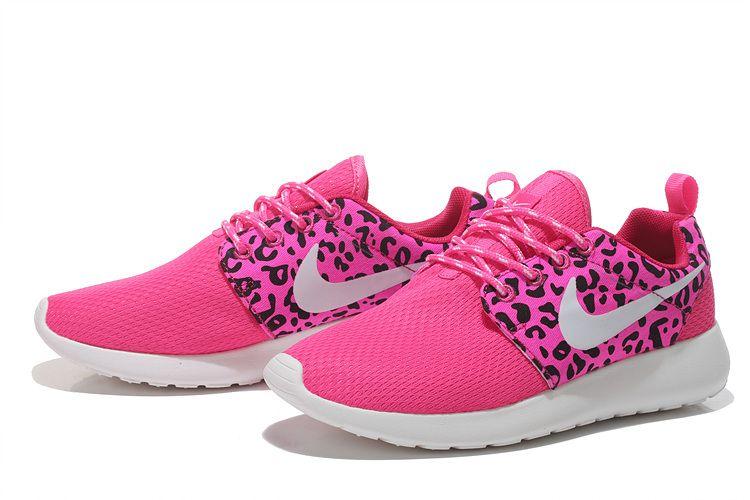 Nike Roshe Run Mesh Womens London floral pink  f79d4e6f5