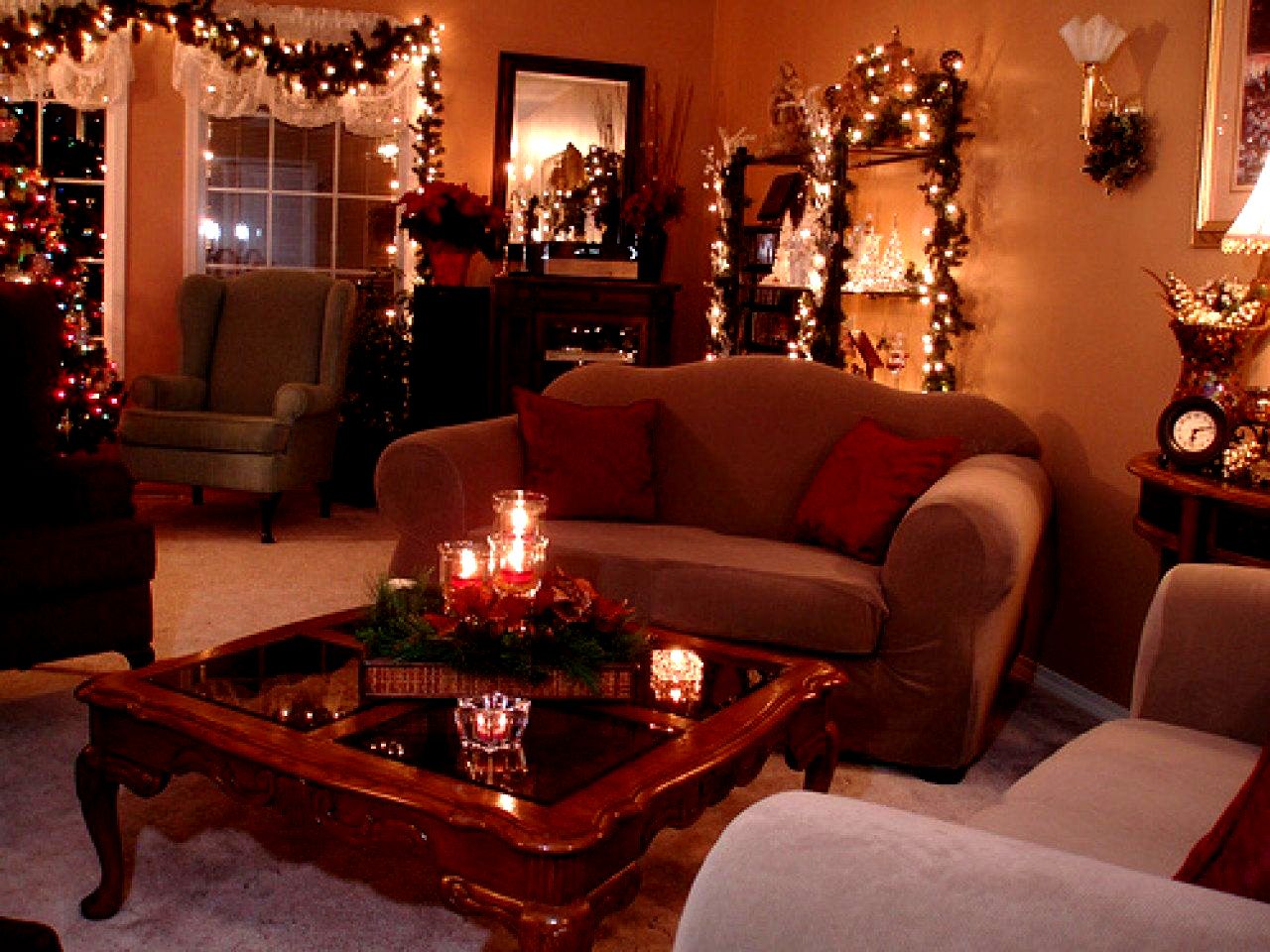 Modern Living Room Decorating Ideas Christmas Table Centerpiece Ideas Christmas Coffee Table Decor Coffee Table Centerpieces Christmas Decorations Living Room