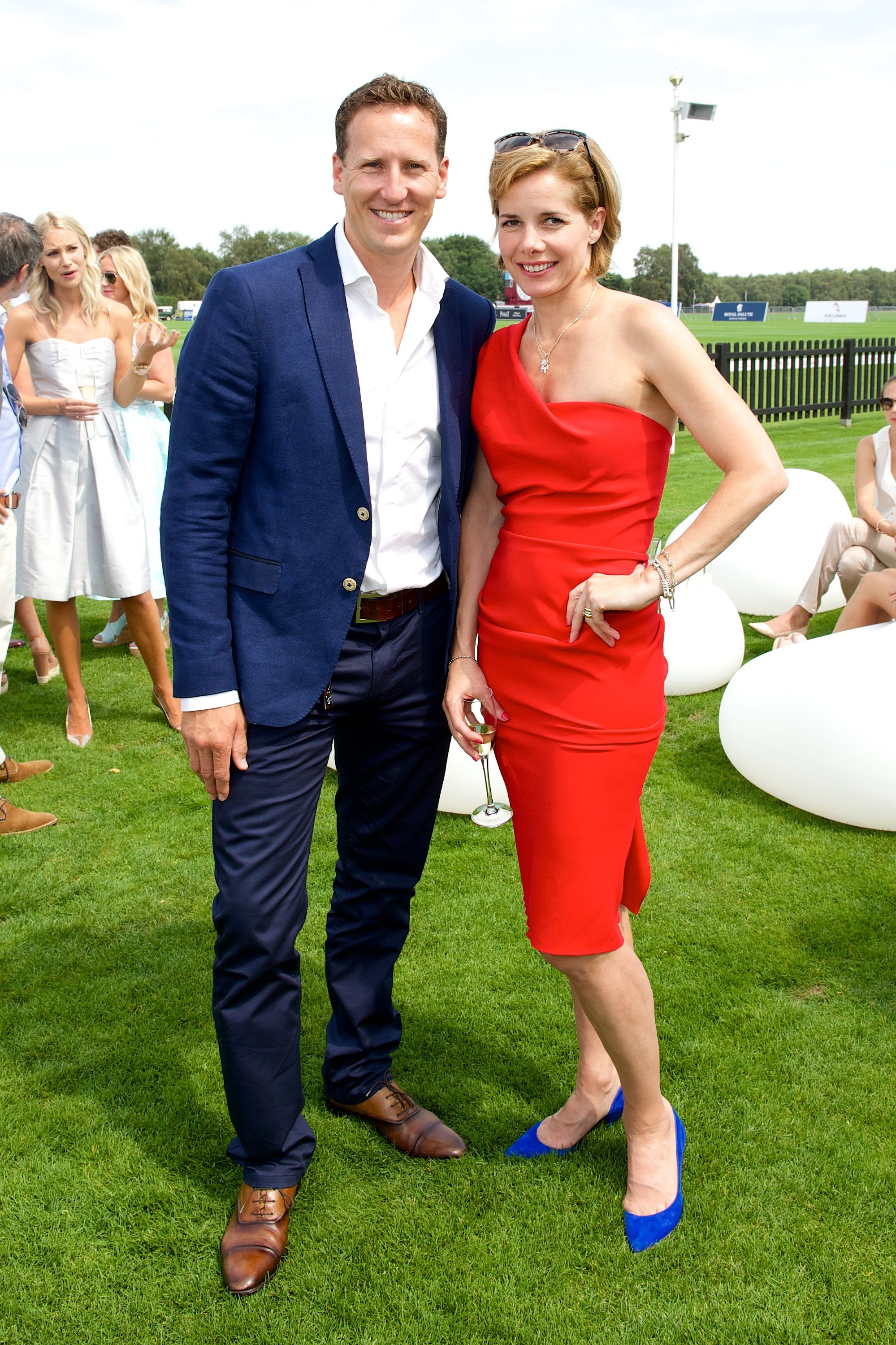 Brendan Cole Amp Darcey Bussell At The Audi International