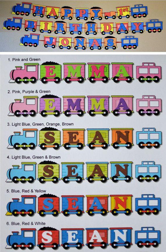 Birthday Train Party Decorations Thomas the Train Train Birthday
