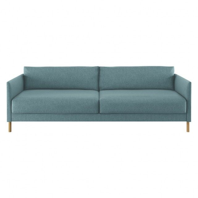 Hyde Teal Fabric 3 Seater Sofa Bed Wooden Legs 3 Seater Sofa Bed Sofa Bed Ikea Sofa Bed